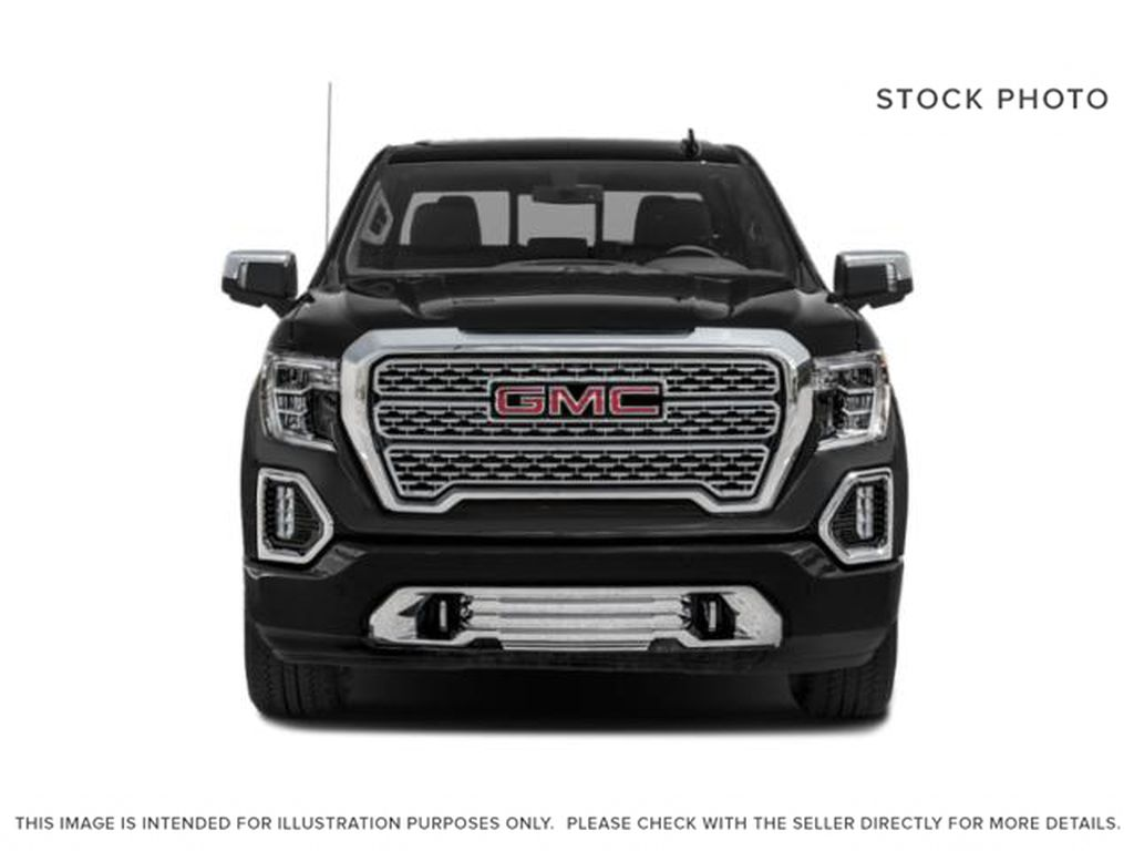 White[White Frost Tricoat] 2019 GMC Sierra 1500 Denali Front Vehicle Photo in Calgary AB