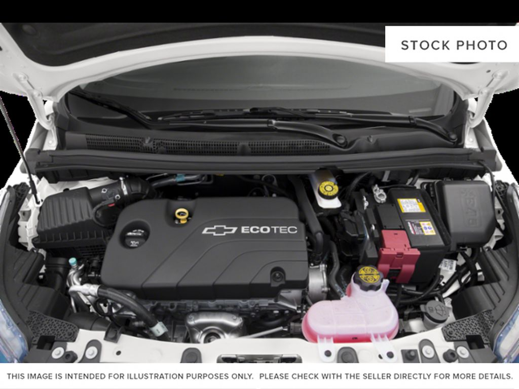 Black[Mosaic Black] 2021 Chevrolet Spark Engine Compartment Photo in Calgary AB