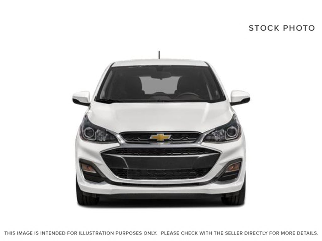 Black[Mosaic Black] 2021 Chevrolet Spark Front Vehicle Photo in Calgary AB