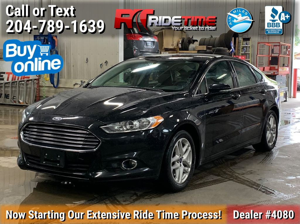 Black[Tuxedo Black] 2014 Ford Fusion SE - Leather, Alloys, ALL CREDIT APPROVED