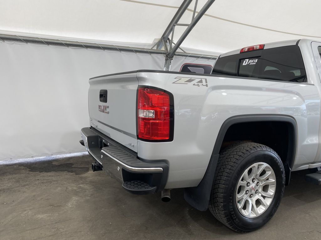 Silver 2015 GMC Sierra 1500 Left Side Rear Seat  Photo in Airdrie AB