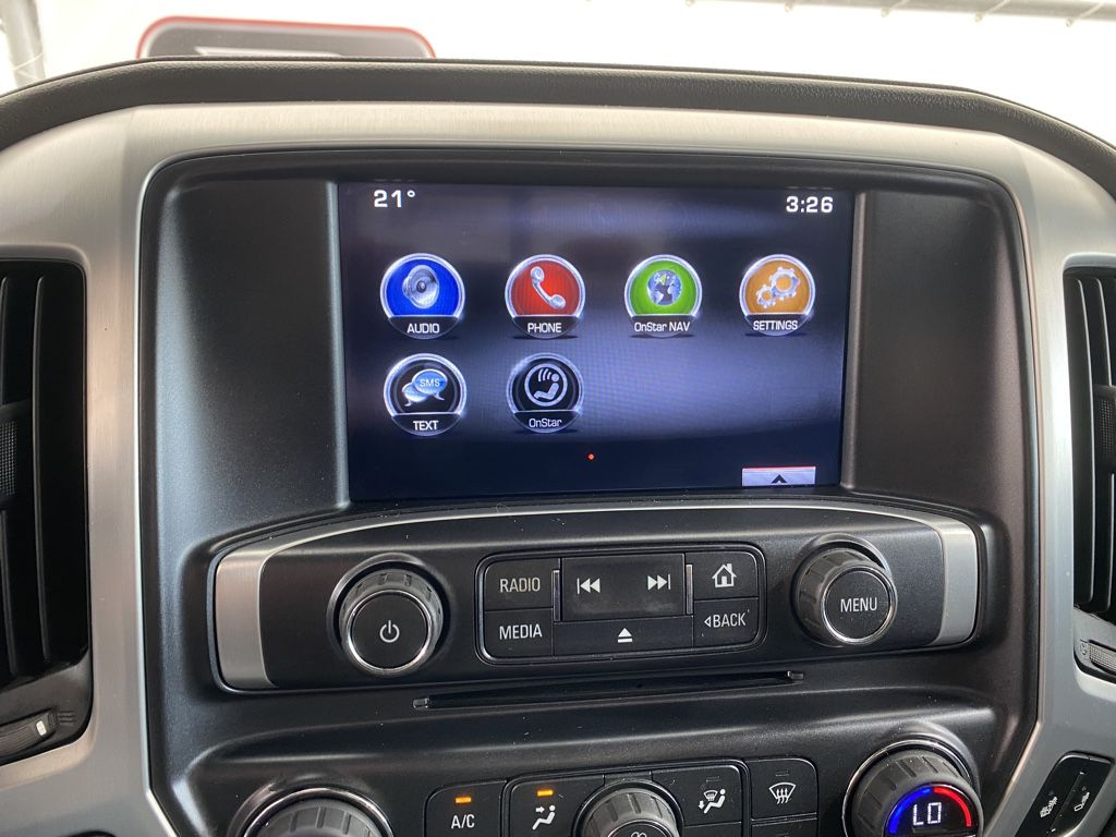 Silver 2015 GMC Sierra 1500 Front Vehicle Photo in Airdrie AB