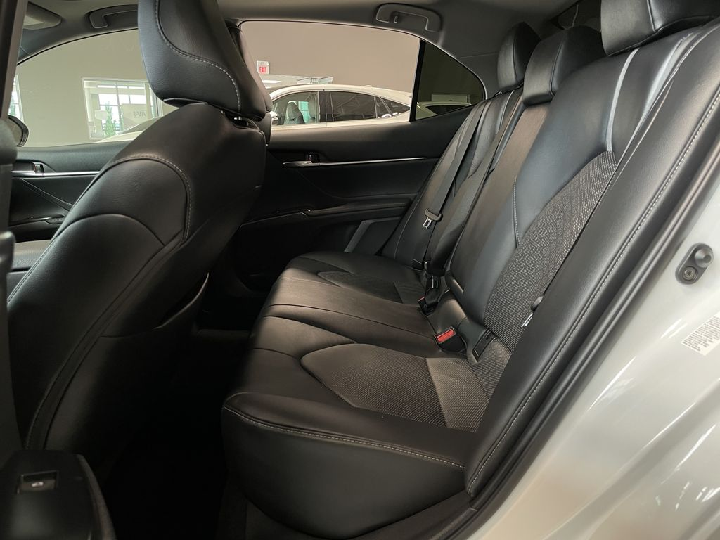 White 2018 Toyota Camry XSE Right Rear Side Body Line Photo in Edmonton AB