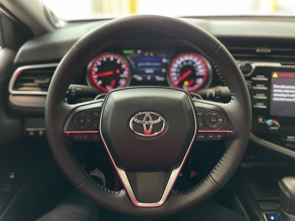 White 2018 Toyota Camry XSE Right Side Photo in Edmonton AB