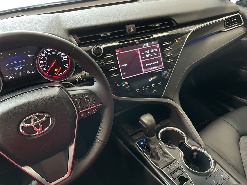 White 2018 Toyota Camry XSE Right Side Front Seat  Photo in Edmonton AB