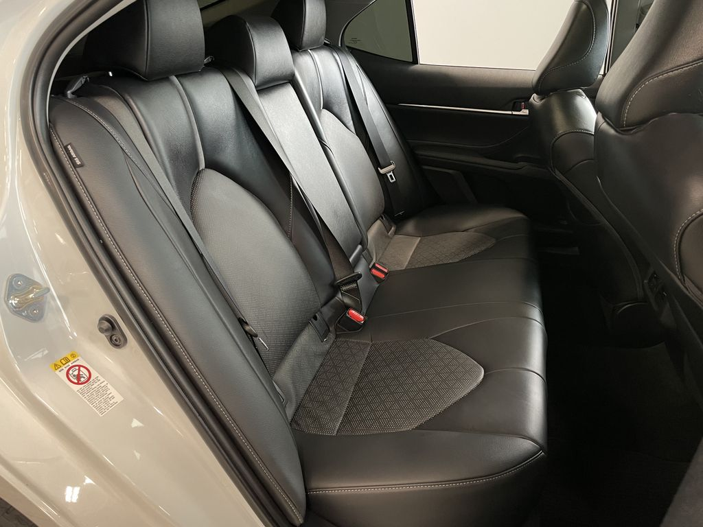 White 2018 Toyota Camry XSE Left Driver Controlled Options Photo in Edmonton AB