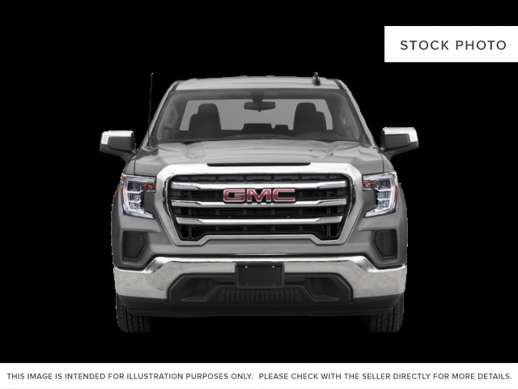 White[Summit White] 2020 GMC Sierra 1500 Front Vehicle Photo in Fort Macleod AB