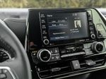 White[Blizzard Pearl] 2021 Toyota Highlander Central Dash Options Photo in Kelowna BC