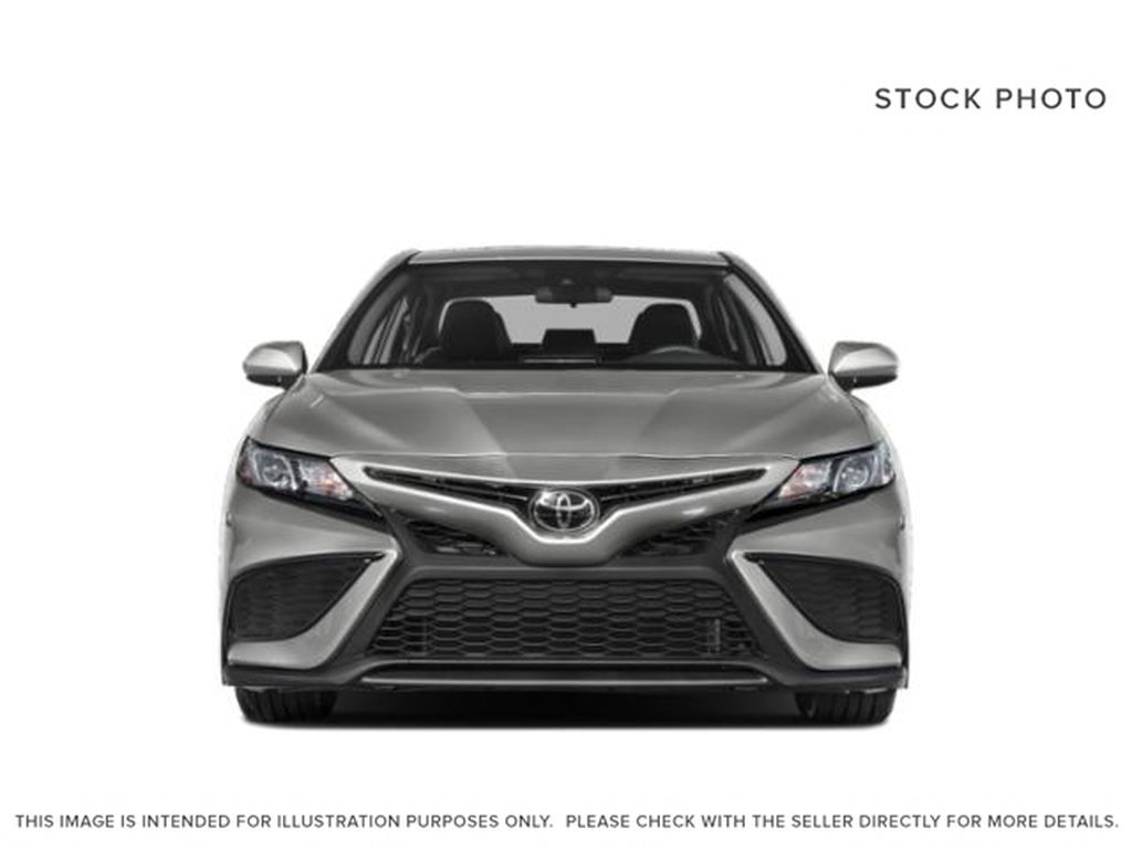 Silver[Celestial Silver Metallic] 2021 Toyota Camry Front Vehicle Photo in Kelowna BC