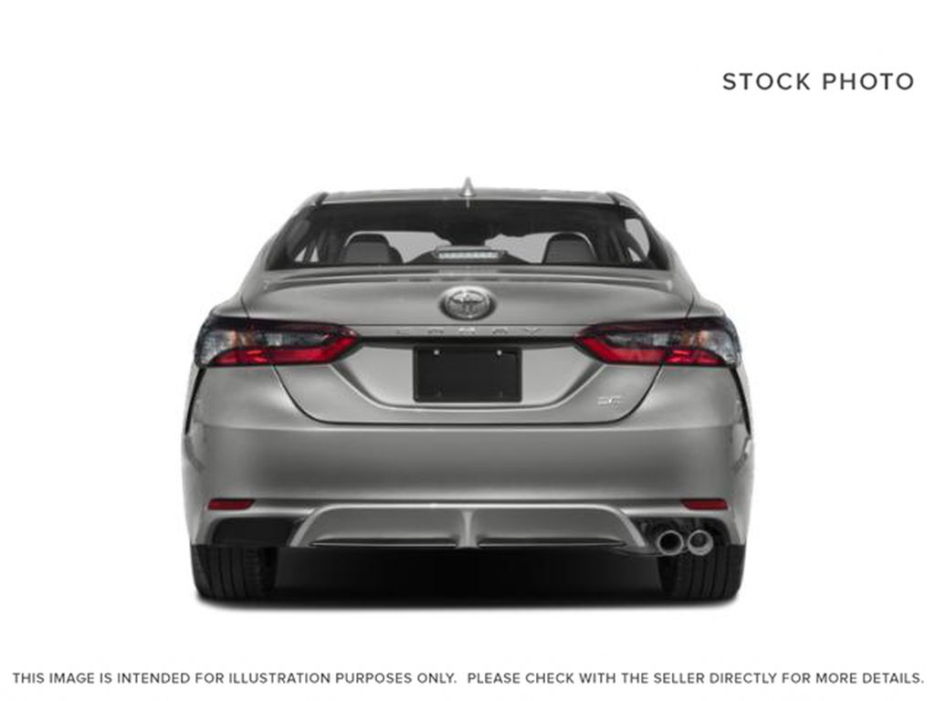 Silver[Celestial Silver Metallic] 2021 Toyota Camry Rear of Vehicle Photo in Kelowna BC