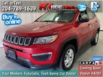 Red[Redline Pearl] 2019 Jeep Compass Sport 4WD - Heated Seats / Steering Wheel Primary Photo in Winnipeg MB