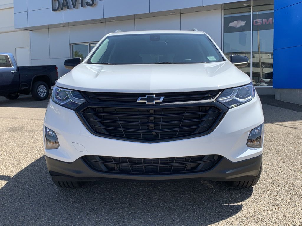 White 2021 Chevrolet Equinox Front Vehicle Photo in Brooks AB