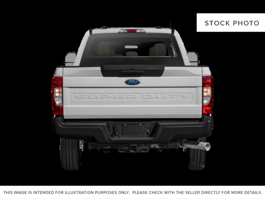 White[Oxford White] 2021 Ford Super Duty F-350 SRW Rear of Vehicle Photo in Fort Macleod AB