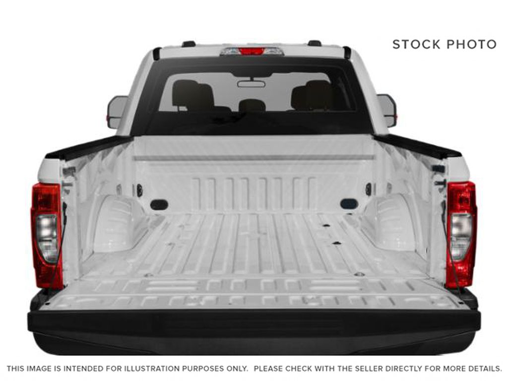 White[Oxford White] 2021 Ford Super Duty F-350 SRW Trunk / Cargo Area Photo in Fort Macleod AB