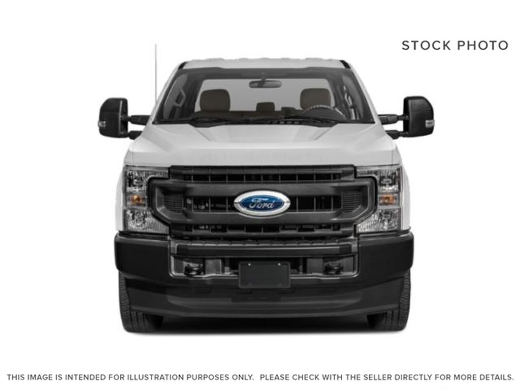 White[Oxford White] 2021 Ford Super Duty F-350 SRW Front Vehicle Photo in Fort Macleod AB