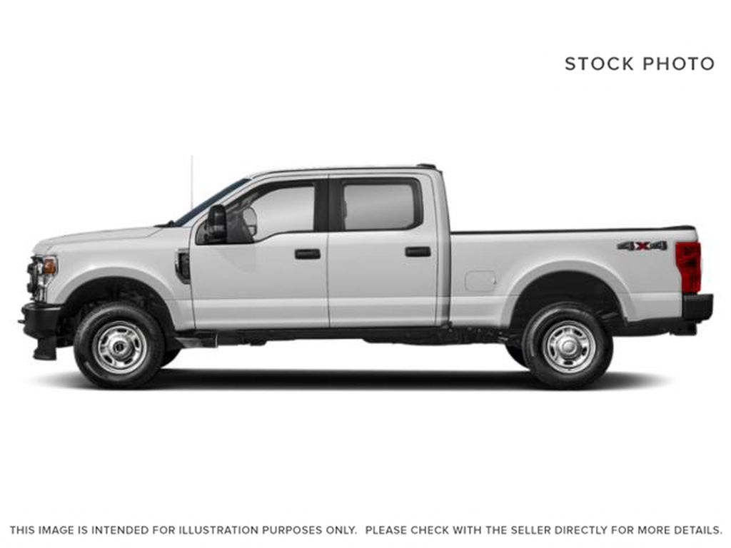 White[Oxford White] 2021 Ford Super Duty F-350 SRW Left Side Photo in Fort Macleod AB