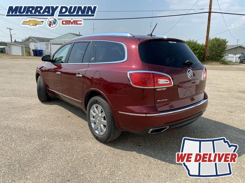 Red[Crimson Red Tintcoat] 2015 Buick Enclave Left Rear Corner Photo in Nipawin SK
