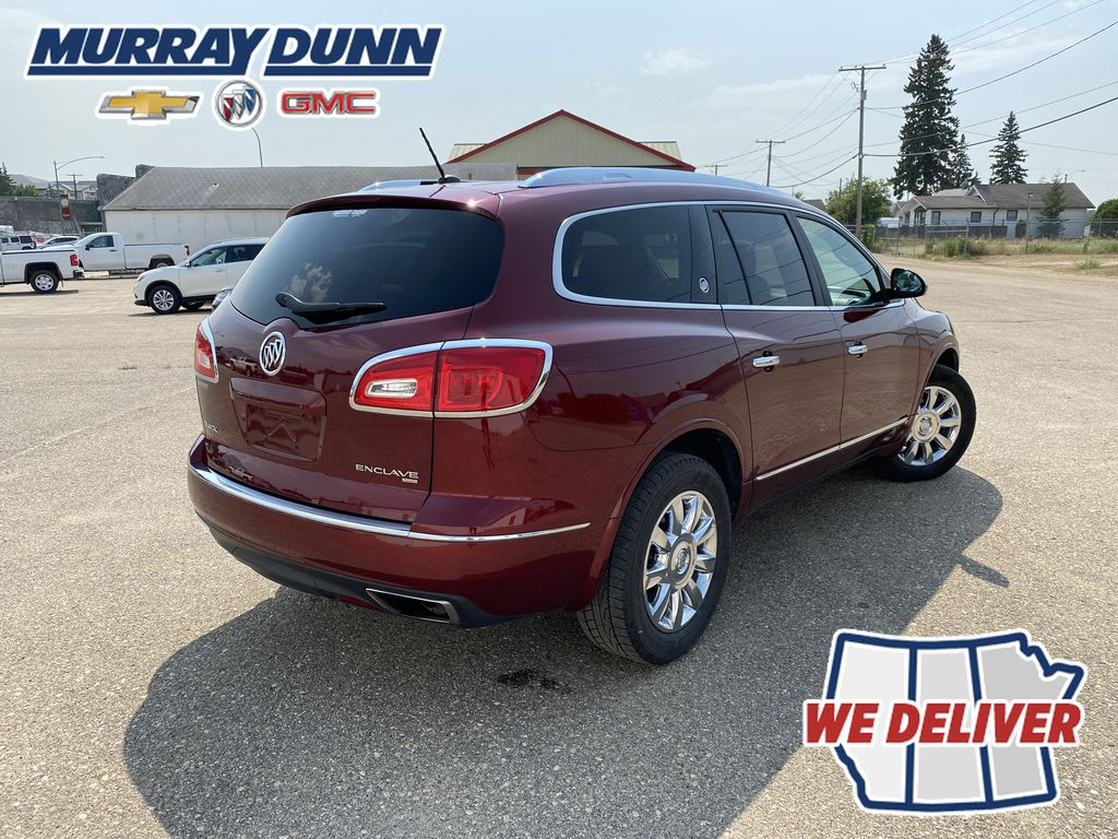 Red[Crimson Red Tintcoat] 2015 Buick Enclave Right  Rear Corner Photo in Nipawin SK