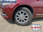 Red[Crimson Red Tintcoat] 2015 Buick Enclave Left Front Rim and Tire Photo in Nipawin SK