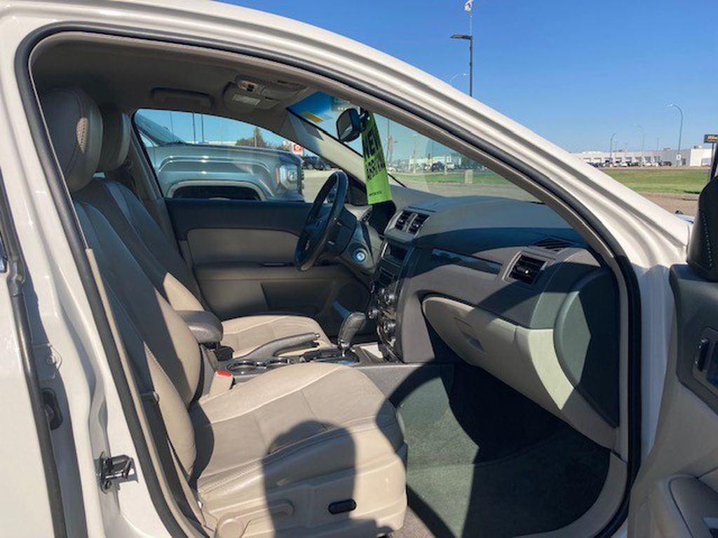 White 2010 Ford Fusion Driver's Side Door Controls Photo in Lethbridge AB