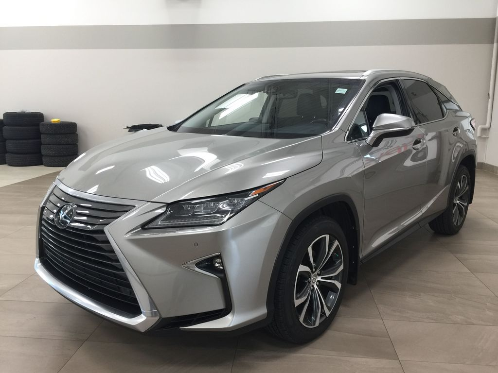 Silver[Atomic Silver] 2017 Lexus RX 350 - LUXURY PACKAGE Left Front Corner Photo in Sherwood Park AB