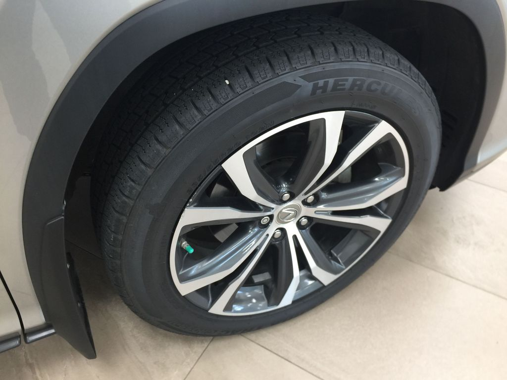 Silver[Atomic Silver] 2017 Lexus RX 350 - LUXURY PACKAGE Right Front Rim and Tire Photo in Sherwood Park AB