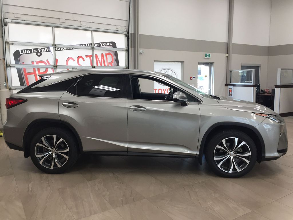 Silver[Atomic Silver] 2017 Lexus RX 350 - LUXURY PACKAGE Right Side Photo in Sherwood Park AB