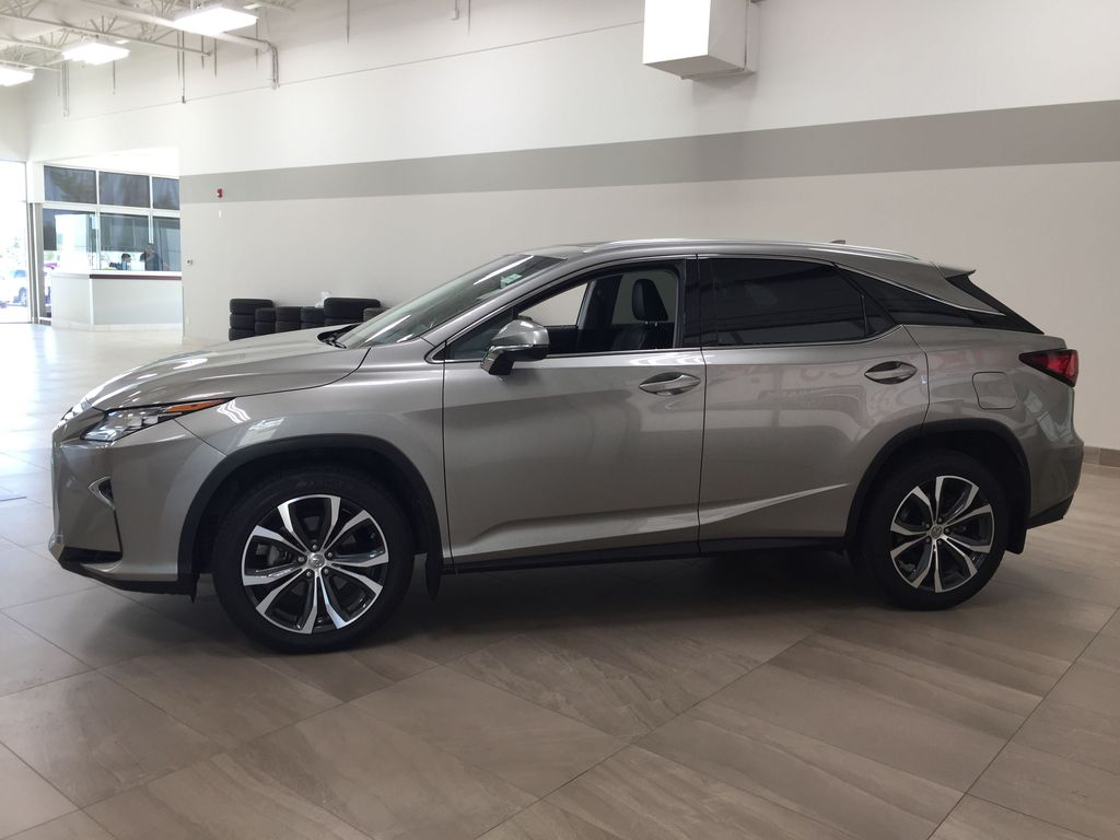 Silver[Atomic Silver] 2017 Lexus RX 350 - LUXURY PACKAGE Left Side Photo in Sherwood Park AB