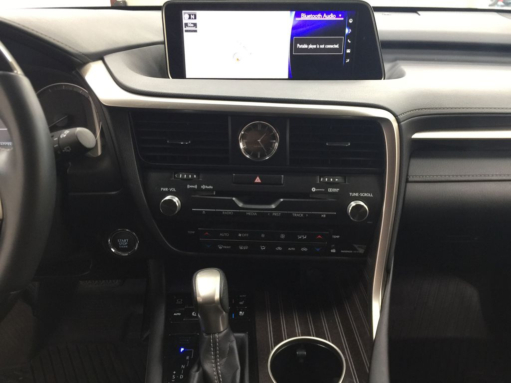 Silver[Atomic Silver] 2017 Lexus RX 350 - LUXURY PACKAGE Central Dash Options Photo in Sherwood Park AB