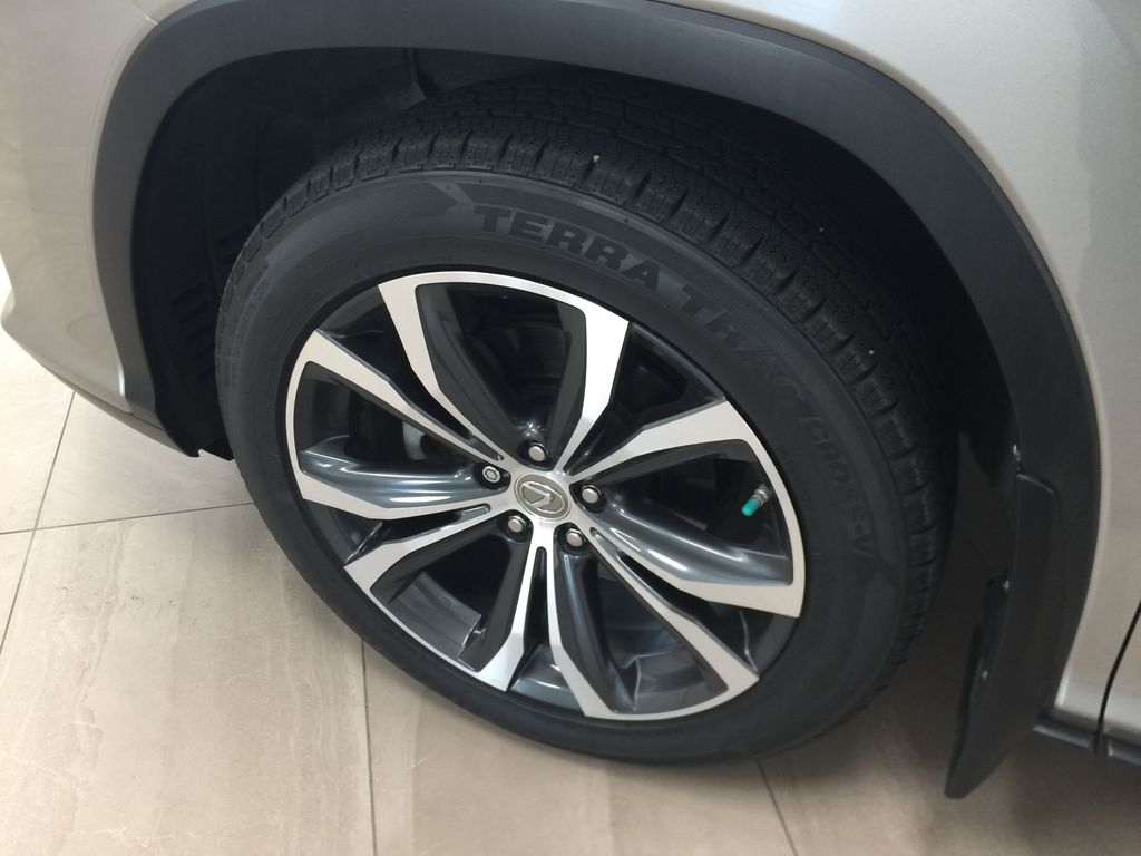 Silver[Atomic Silver] 2017 Lexus RX 350 - LUXURY PACKAGE Left Front Rim and Tire Photo in Sherwood Park AB