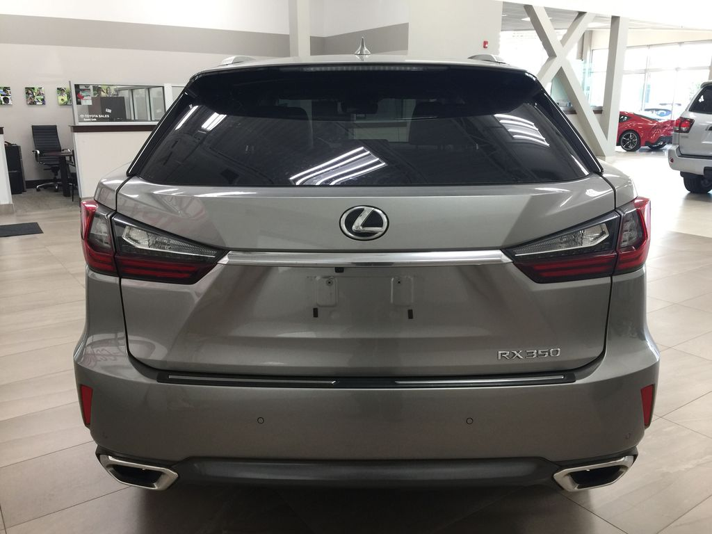 Silver[Atomic Silver] 2017 Lexus RX 350 - LUXURY PACKAGE Rear of Vehicle Photo in Sherwood Park AB