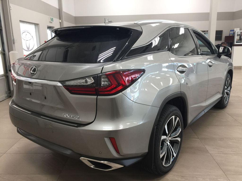 Silver[Atomic Silver] 2017 Lexus RX 350 - LUXURY PACKAGE Right Rear Corner Photo in Sherwood Park AB