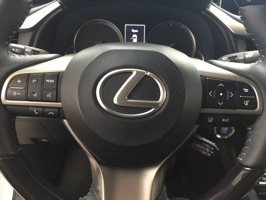 Silver[Atomic Silver] 2017 Lexus RX 350 - LUXURY PACKAGE Steering Wheel and Dash Photo in Sherwood Park AB