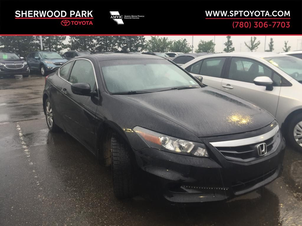 Black[Crystal Black Pearl] 2012 Honda Accord COUPE EX-L / LEATHER