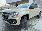 Tan[Sand Dune Metallic] 2021 Chevrolet Colorado Z71 Left Front Head Light / Bumper and Grill in Calgary AB