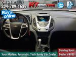 White[Summit White] 2013 Chevrolet Equinox 2LT - Leather, Sunroof, Navigation, Backup Cam Central Dash Options Photo in Winnipeg MB