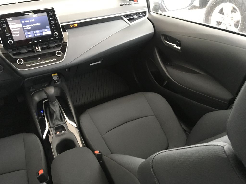 Red[Barcelona Red Metallic] 2021 Toyota Corolla Right Side Front Seat  Photo in Kelowna BC