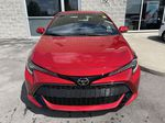 Red[Supersonic Red  w/Black Roof] 2021 Toyota Corolla Hatchback Standard Package K4RBEC AA Left Side Photo in Brampton ON
