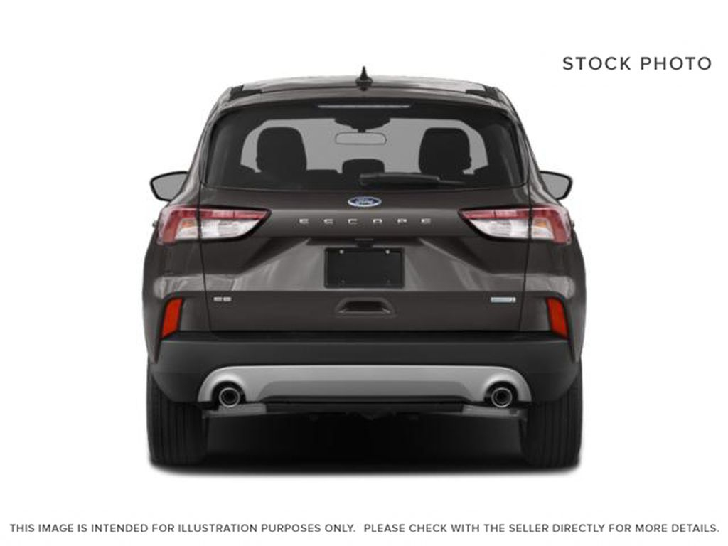 Black[Agate Black Metallic] 2021 Ford Escape Rear of Vehicle Photo in Dartmouth NS