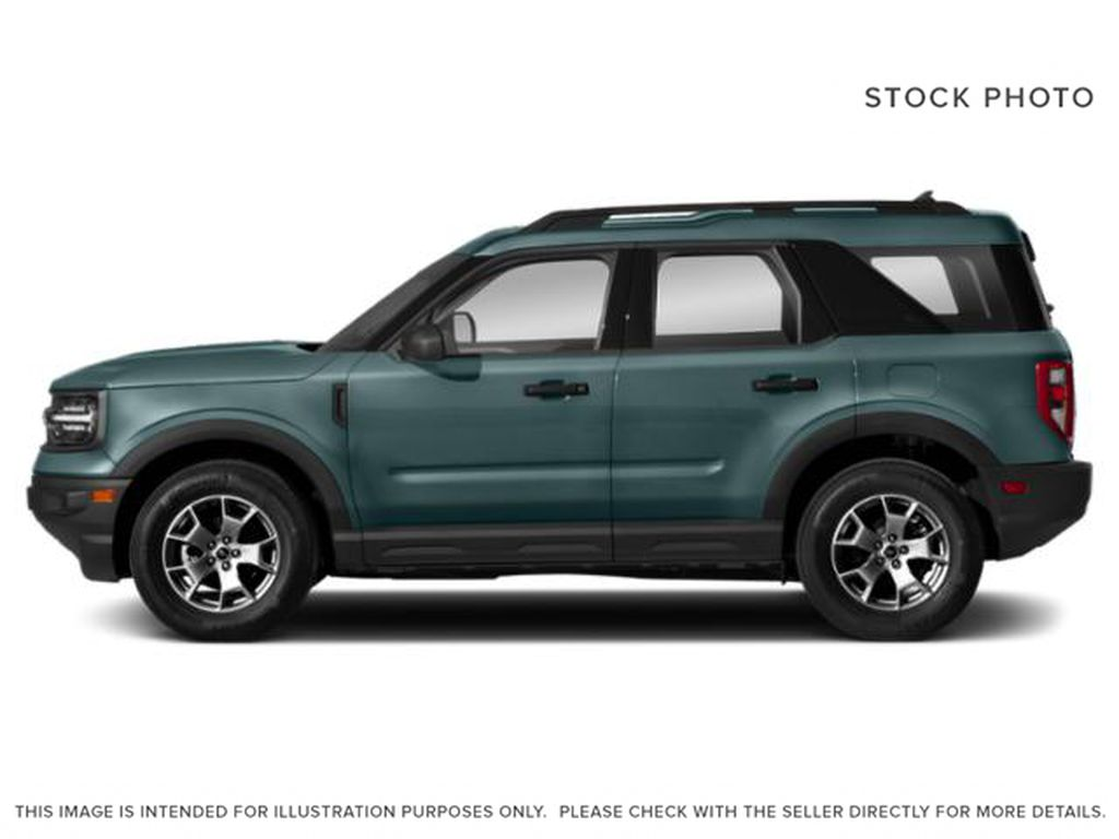 Blue[Area 51] 2021 Ford Bronco Sport Left Side Photo in Dartmouth NS