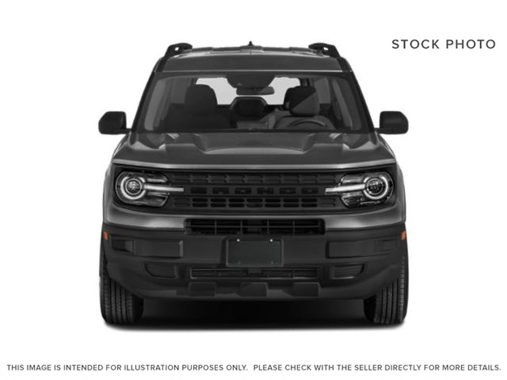 Black[Shadow Black] 2021 Ford Bronco Sport Front Vehicle Photo in Dartmouth NS