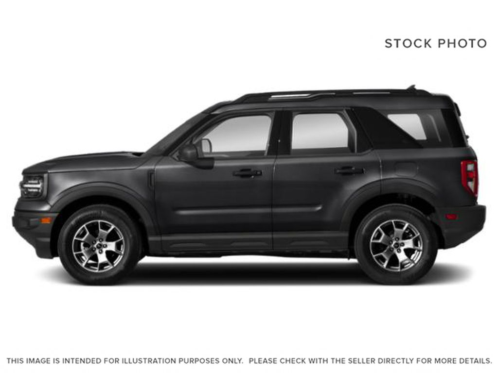 Black[Shadow Black] 2021 Ford Bronco Sport Left Side Photo in Dartmouth NS