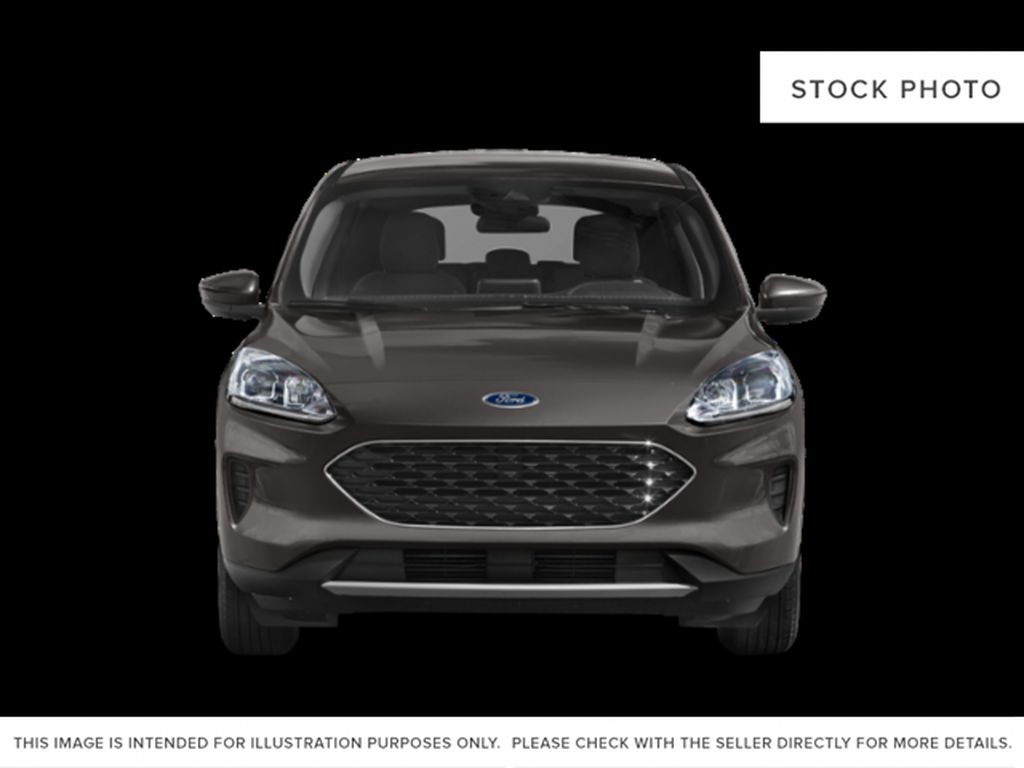 Black[Agate Black Metallic] 2021 Ford Escape Front Vehicle Photo in Dartmouth NS