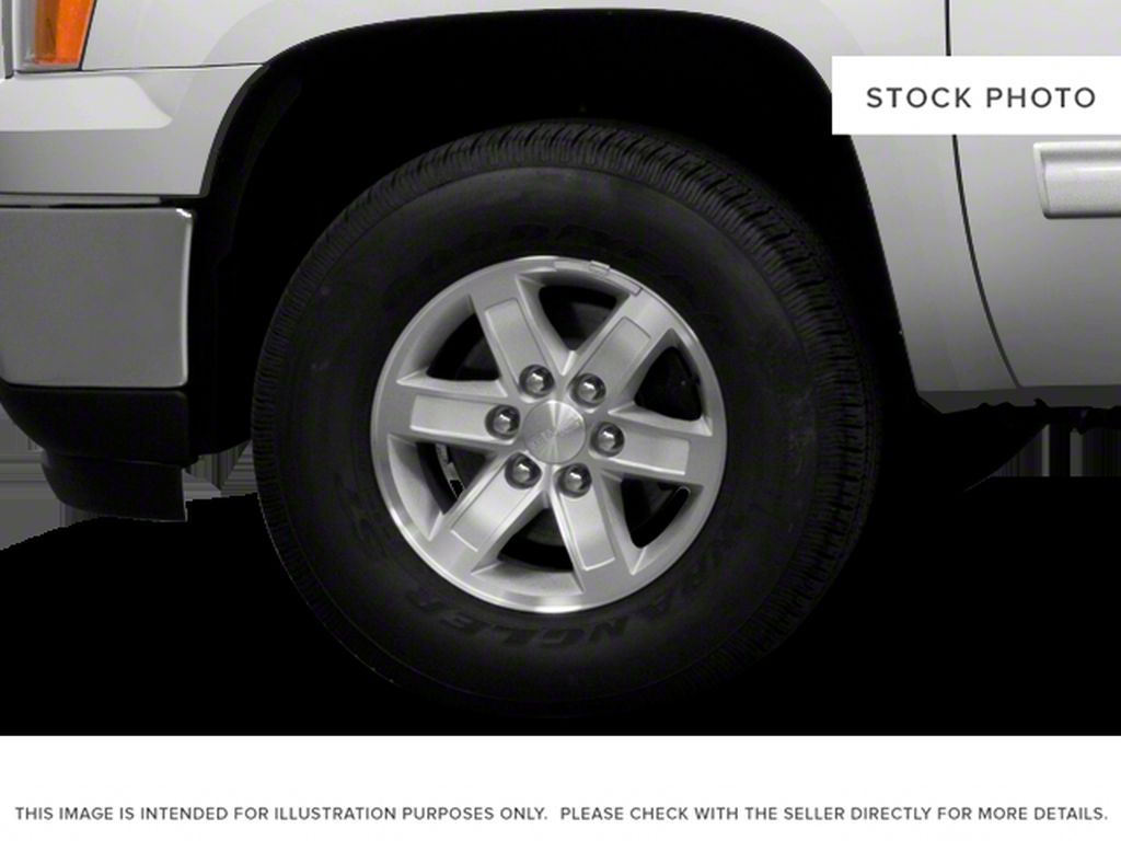 White[Summit White] 2012 GMC Sierra 1500 Left Front Rim and Tire Photo in Fort Macleod AB