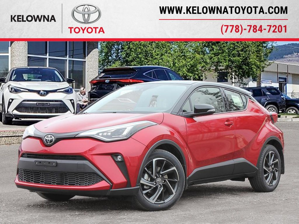 Red[Supersonic Red w/Black Roof] 2021 Toyota C-HR
