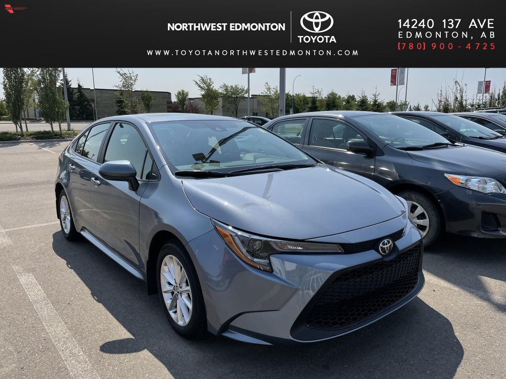Grey 2021 Toyota Corolla LE | Extended Warranty Included