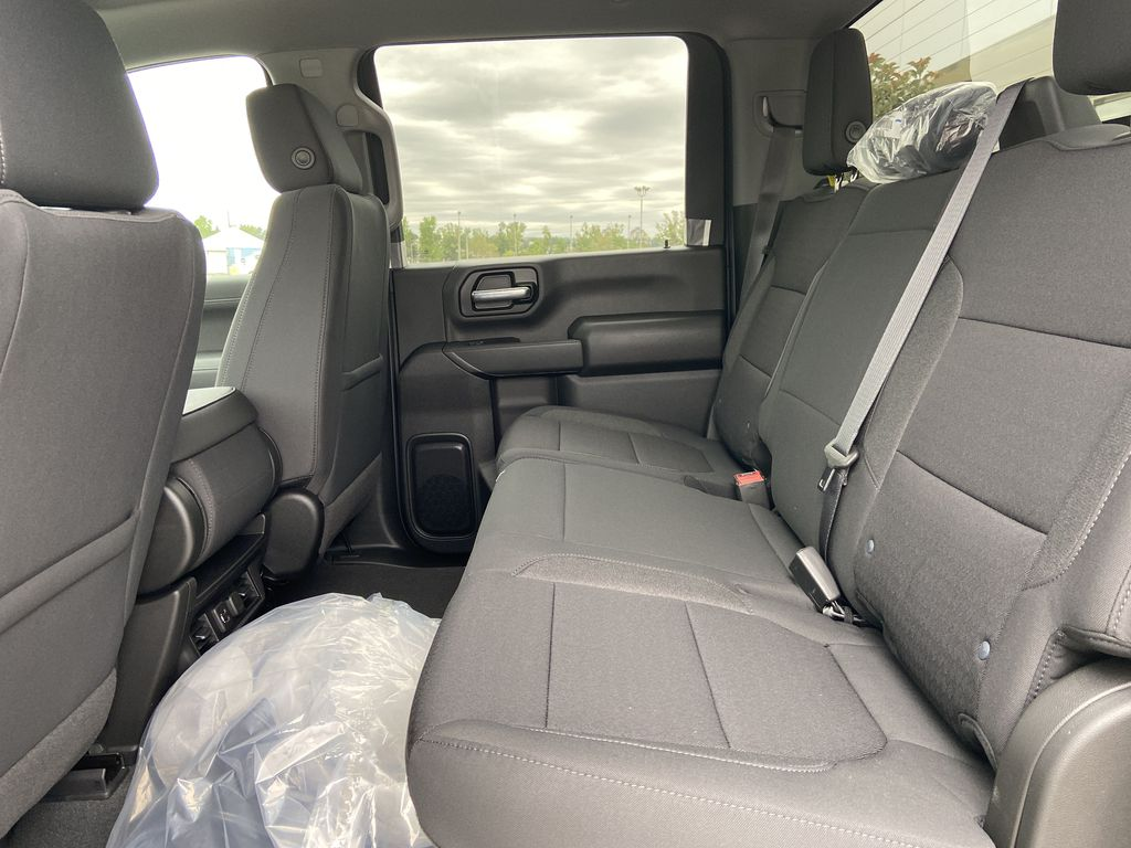 White[Summit White] 2021 Chevrolet Silverado 3500HD LT Left Side Rear Seat  Photo in Calgary AB