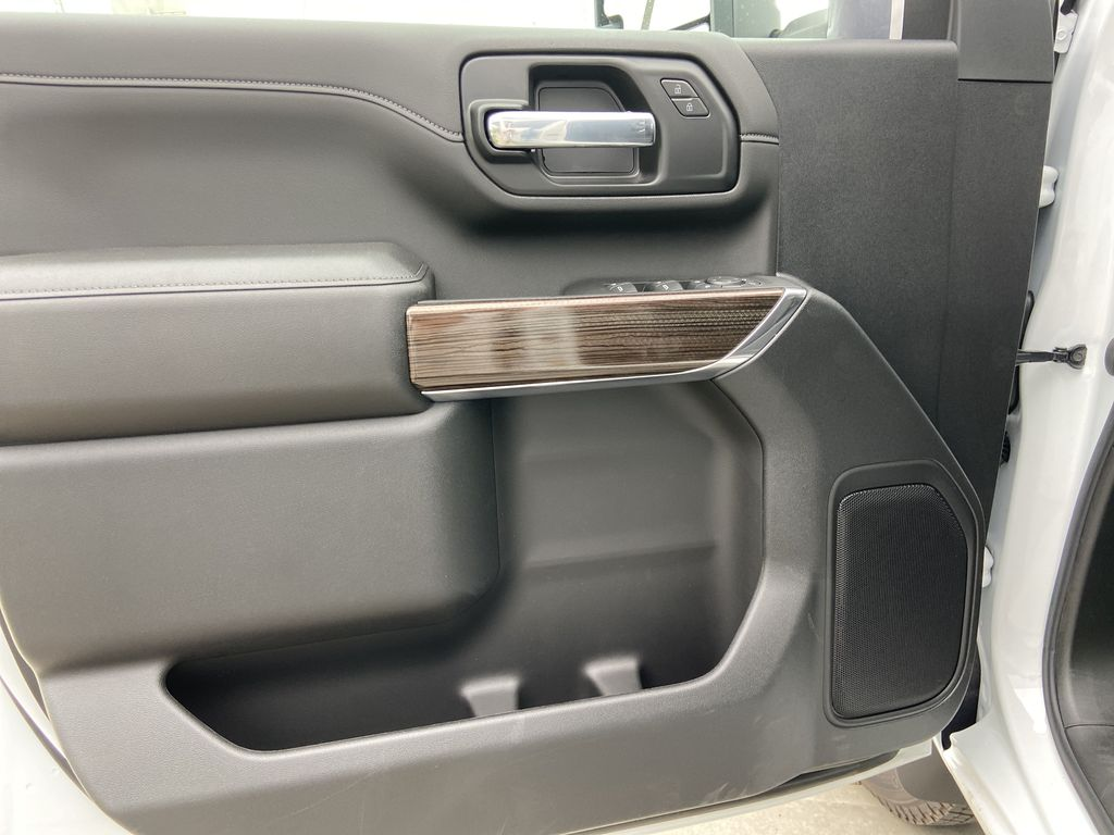 White[Summit White] 2021 Chevrolet Silverado 3500HD LT Left Front Interior Door Panel Photo in Calgary AB