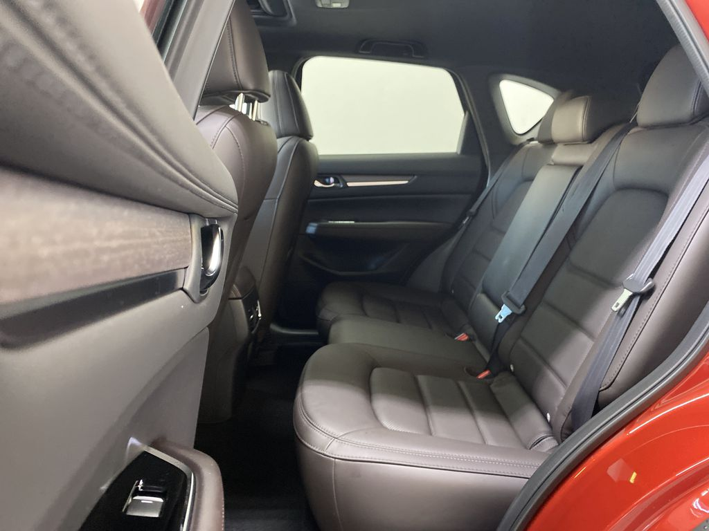 SOUL RED CRYSTAL METALLIC(46V) 2021.5 Mazda CX-5 Signature AWD Left Side Rear Seat  Photo in Edmonton AB