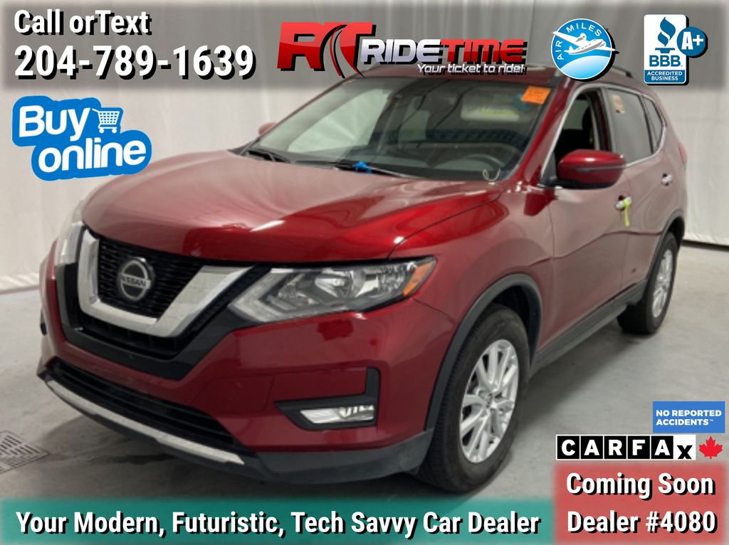 Red[Scarlet Ember Pearl] 2020 Nissan Rogue SV AWD - Panoramic Roof, Heated Seats, Backup Cam